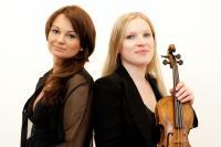 Ewelina Nowicka, viool, en Pola Lazar, piano